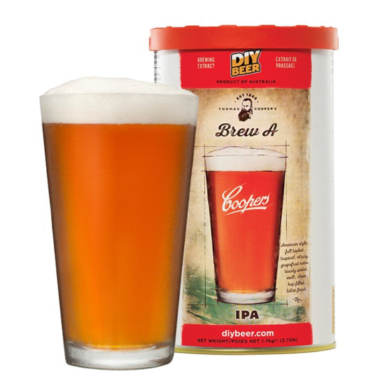 Coopers Brew A IPA 1 7kg - The Homebrew Company