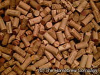 Cone Shaped Natural Corks 23x40 (50 pack)